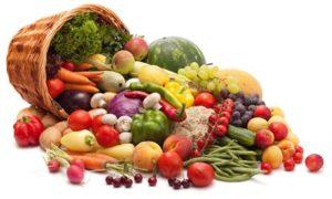Фрукты и овощи для потенции