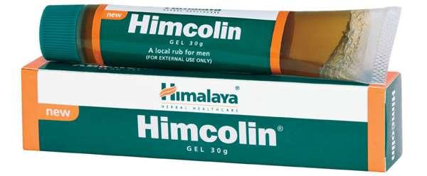 Химколин препарат, улучшающий потенцию, для местного применения