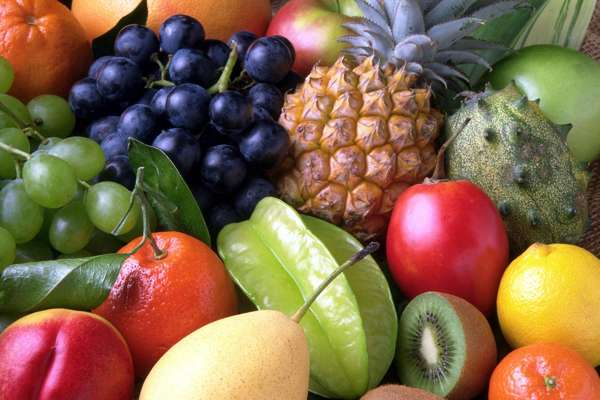 Нужно кушать ягоды и фрукты для потенции. Продукты