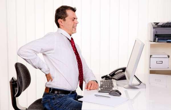 Сидячая работа - причина внезапного снижения потенции